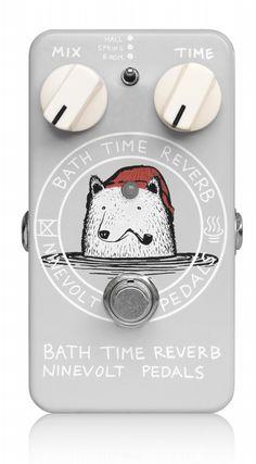 NINEVOLT PEDALS BATH TIME REVERB