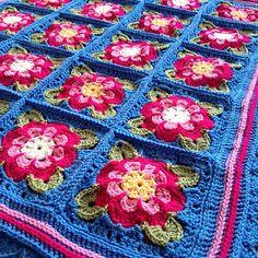 Ravelry: SimonePlantinga's Painted Roses Blanket