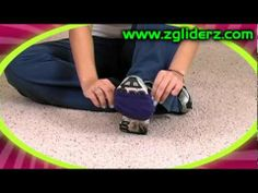 Z-Gliderz Carpet Gliders for dance fitness. This are the perfect solution for sore knees after doing zumba or any dancing on carpet. They work on any carpeted surface or rubber floors. NO MORE SORE KNEES!
