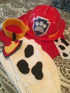 Marshall costume from Paw Patrol