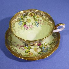 Royal Albert Portrait Series Tea Cup and Saucer Portrait
