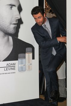 Maroon 5's Adam Levine attends the launch of his new fragrance in Century City, CA.