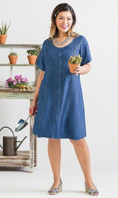 Garden Dress / MiB Plus Size Fashion for Women