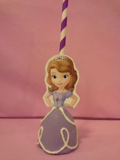 Sofia the First Cake pop