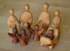familia de madera
