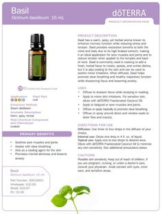 Basil Essential Oil Uses