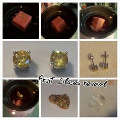 Wax tart (scent fruit slices) from Jewelry in Candles revel picture