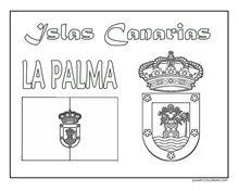 LA PALMA JUGARYCOLOREAR ESCUDO 2 1