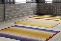 New collection of colourfield Gelim rugs. Available now from www.ptolemymann.com