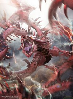 Slifer the Sky Dragon by andytantowibelzark.deviantart.com on @DeviantArt