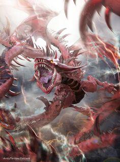 Slifer the Sky Dragon by andytantowibelzark.deviantart.com on @DeviantArt