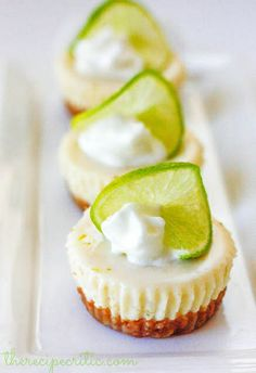 Mini Key Lime Pie Cupcakes