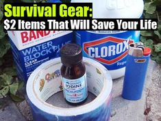 Survival Gear: $2 Items That Will Save Your Life - SHTF Preparedness