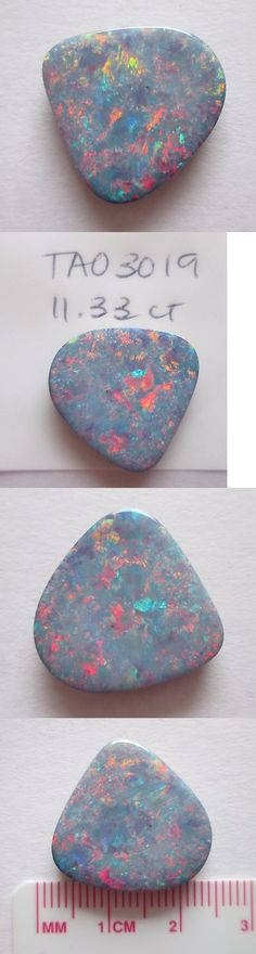Doublets 10240: 11.33 Ct Australian Opal Doublet W Queensland Boulder Backing # Tao 3019 -> BUY IT NOW ONLY: $240 on eBay!