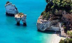 Gargano peninsula in Puglia, Italy