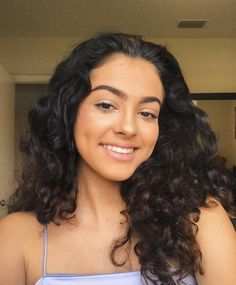 Malu Trevejo As Normani Piaz Beauty Makeup, Hair Makeup, Hair Beauty, Malu Trevejo Outfits, Hair Inspo, Hair Inspiration, Curly Hair Styles, Natural Hair Styles, Flawless Face