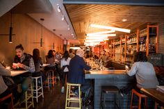 Music in Toronto restaurants can be a huge part of a meal. If you've ever eaten at a place where the music is mediocre, or worse - no music - was p. Toronto Vacation, Restaurant Music, East Side, Restaurants, Meal, Decorations, Lighting, Food, Dekoration