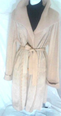 Womens Large Verdon Vintage Suede Jacket, Long #Verdon #BasicJacketlong