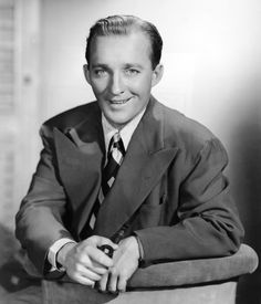 Bing Crosby - The most beautiful voice I have ever heard in my life. Probably my #1 favorite actor/singer. I love him <3