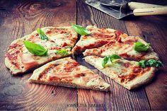 Pizza bezglutenowa I Buckwheat gluten-free pizza! Buckwheat Gluten Free, Gluten Free Pizza, Vegetable Pizza, Quiche, Vegetables, Breakfast, Food, Kitchens, Morning Coffee