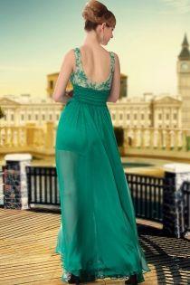 Beaded Sheer Sleeveless Floor Length Elegant Evening #FormalDress.  #fashion #shopping #womens #party #event