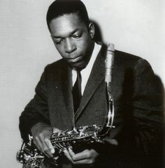 July 17, 1967 - American jazz saxophonist and composer John Coltrane died from liver cancer at Huntington Hospital in Long Island, New York, aged 40. Worked with Miles Davis, Dizzy Gillespie. Released the 1964 album 'A Love Supreme'. •• #johncoltrane #thisdayinmusic #1960s #saxophone #composer #jazz #rip #restinpeace