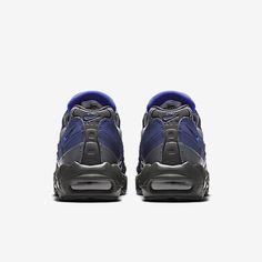 brand new 4d2cf 87c2f Chaussure Nike Air Max 95 Pas Cher Homme Essential Anthracite Bleu Binaire  Gris Froid Bleu Souverain