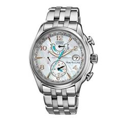 I really need this watch.   Ladies' Citizen Eco-Drive™ World Time A-T Chronograph Watch with Mother-of-Pearl Dial (Model: FC0000-59D)  - Peoples Jewellers   ...