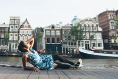 Vacation Lady's City Photoshoot in Amsterdam - rudenko-photography.com