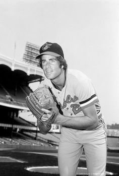 Jim Palmer. Oriole pitcher