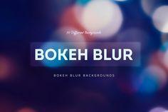 30 Bokeh Blur Backgrounds II by Digital ART on Creative Market
