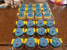 Dory Cupcakes