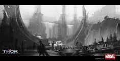 THOR: THE DARK WORLD Concept Art by Richard Anderson