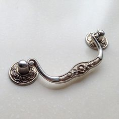 Rustic Silver Dresser Pulls Drawer Pull Handles by JackAccessories