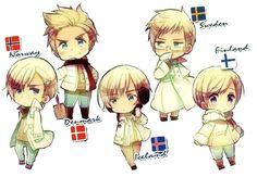 Denmark Matthias Kohler  Sweden Berwald Oxenstierna  Finland Tino Vainamoinen  Iceland Emil Steilsson  Norway Lukas Bondevik