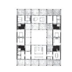 John Hejduk, Seven Houses, 1980, Texas, USA