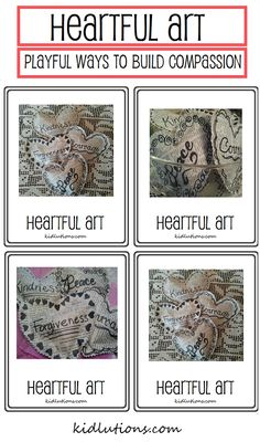 Heartful Art: Playful Ways to Build Compassion. Kindness. Forgiveness. Character.