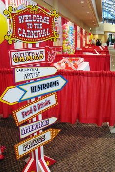 Carnival Employee Appreciation Event - I love this idea for a fun day to appreciate your team!  Who doesn't like a carnival?