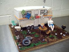 trailer dirty cake