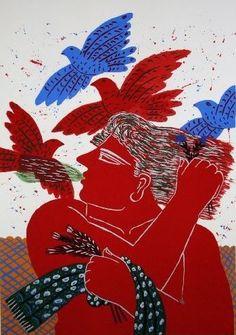 Museum Of Contemporary Art, Modern Art, Greek Paintings, Byzantine Icons, Greek Art, Art Graphique, Crayon, Art History, Screen Printing
