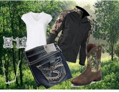 """Fun in the Woods"" by ashley-braun on Polyvore"