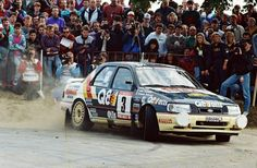 François Delecour, Ford Sierra Cosworth 4x4, Rally Ypres 1991