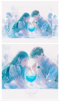 Anime Girl Crying, Anime Art Girl, Manga Art, Manga Anime, Anime Couples Drawings, Anime Couples Manga, Couple Drawings, Cute Couple Art, Anime Love Couple
