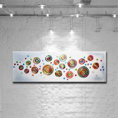 PEINTURE TABLEAU OEUVRE ART ABSTRAIT SUR TOILE de ACRYLIKS GALERIE sur DaWanda.com Project Abstract, Abstract Art, Assemblage Art, Art Abstrait, Art Plastique, Garden Art, Poster Prints, Posters, Color Schemes