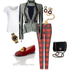 """tartan"" by sheryl-slack-bessinger on Polyvore"
