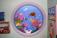 Daycare Decor...a beautiful mural