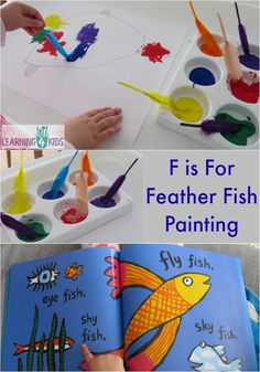 F is for feather fis