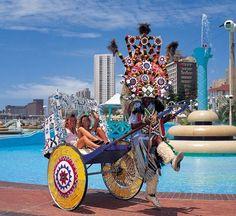 Summer destination..Zulu Rickshaw rides in Durban..mhh amazing