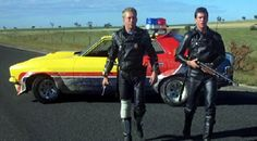 The Interceptor, Goose and Max, Mad Max one. Mad Max Mel Gibson, Mad Max 2, Movies And Series, Mad Max Fury Road, Tough Guy, Post Apocalyptic, Cool Cars, Monster Trucks, How To Memorize Things