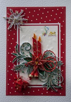 Beautiful QUILLING  CARD